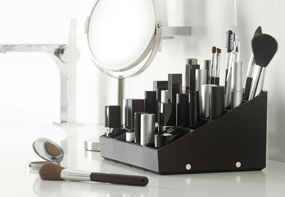 Le rangement maquillage en situation