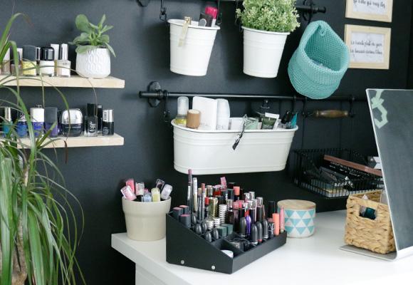 Mon rangement maquillage - Dioz