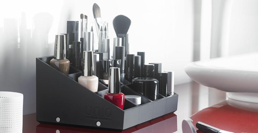 Makeup organizer - The modular storage solution for makeup - Uniq Organizer