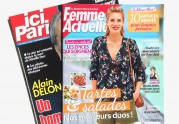 Featured in French magazines
